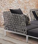 B&B Italia Ravel modulierbares Sofa, End- Eckelement links 99 cm