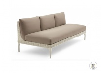 DEDON MU modulierbares Sofa, Mittelmodul XXL