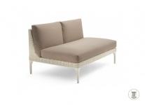 DEDON MU modulierbares Sofa, Mittelmodul