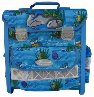 Samsonite Schulrucksack Samies Schulrucksack Sportrucksack Multifunktionsrucksack Schulranzen Schüler blau Rucksack