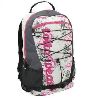 Rucksack Sleazy Schulrucksack Sportrucksack Freizeitrucksack Multifunktionsrucksack Schulranzen Damen Mädchen Schüler pink garu
