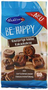 Bahlsen Be Happy Kakaokekse, 6er Pack (6 x 130 g)
