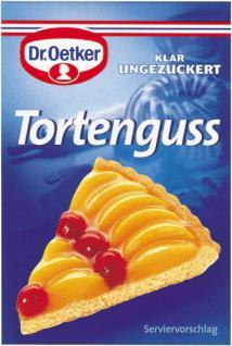 Dr. Oetker Tortenguß Klar Ungezuckert, 9 x 3 Einzeltüten à 9 g, 9er Pack