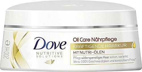 Dove Haarpflege Kräftigende Haarkur Oil Care Nährpflege, 3er Pack (3 x 200 ml)