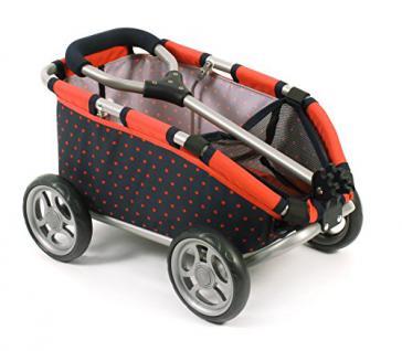 Bayer Chic 2000 660 11 - Ziehwagen Skipper für Puppen, Teddys und Spielzeug