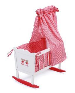 Bayer Chic 2000 504 98 - Puppenwiege, Teddy Bears