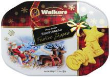 Walkers Shortbread Festive Shapes Shortbread Tin 350g, 1er Pack (1 x 350 g)