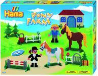 Hama 3136 - Geschenkpackung Ponyhof, circa 4000 Bügelperlen und zwei Stiftplatten