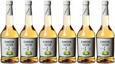 Choya Silver Japanese Plaumenwein Japanische Ume-Frucht süß 6er Pack