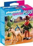 PLAYMOBIL 5373 - Cowboy mit Fohlen