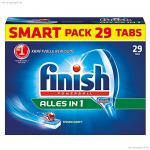 Finish Calgonit Alles in 1, Spülmaschinentabs, 29 Tabs