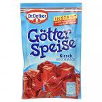 Dr. Oetker Instant Götterspeise Kirsche, 1er Pack (1 x 100 g)