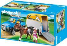 PLAYMOBIL 5223 - PKW mit Pferdeanhänger