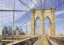 Ravensburger 19424 Auf der Brooklyn Bridge, 1000 Teile Puzzle
