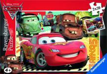 Ravensburger 09169 - Disney Cars 2: Neue Abenteuer - 2 x 20 Teile Puzzle