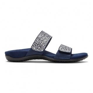 Vionic Pantolette Pantolette Pantolette Sandale Samoa navy wide Gr. 35 - 42 Beliebte Schuhe 975010