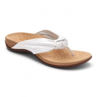 Vionic Zehensteg Sandale Pippa white Gr. 36 - 42 - 1001125