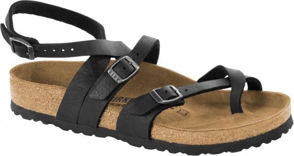 BIRKENSTOCK Sandale Fersenriemen Seres Camberra old black NL Gr. 35 - 43 1008730