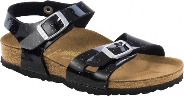 Birkenstock Sandale Fersenriemen Rio BF magic galaxy black Gr. 24 - 34 1003237k