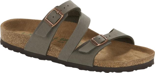 BIRKENSTOCK Pantolette Sandale Salina stone 1016391