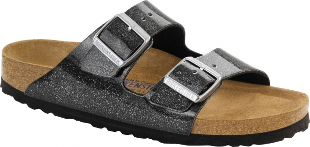 Birkenstock Pantolette Arizona BF WB magic galaxy black Gr. 35 - 43 057633