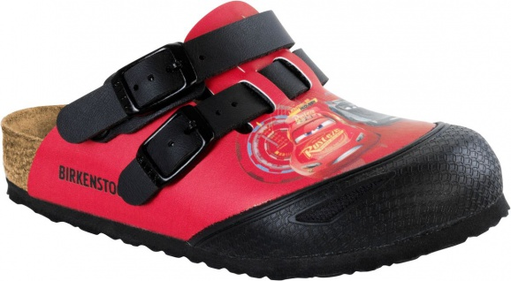 Birkenstock Clog Kay cars 3 red 1008678