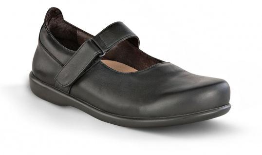 BIRKENSTOCK Shoes Balerina Reutlingen schwarz Leder Gr. 36 - 42 430291 + 430293 - Vorschau