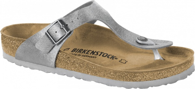 Birkenstock Zehensteg Sandale Gizeh animal fascination gray Gr. 35 - 43 - 1008663