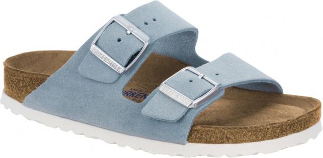 Birkenstock Pantolette Arizona VL light blue Gr. 35 - 46 - 1003727