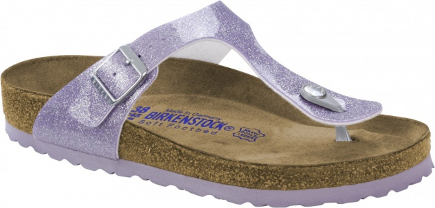 Birkenstock Zehensteg Sandale Gizeh BF Magic Galaxy lavender Gr. 35 - 43 - 1003167
