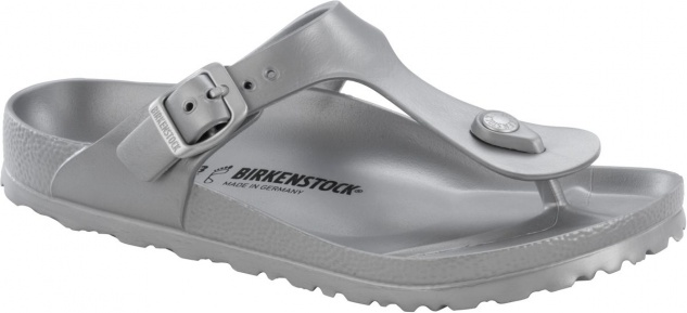Birkenstock Pantolette Badeschuh Gizeh silver EVA Gr. 35 - 41 - 1003496
