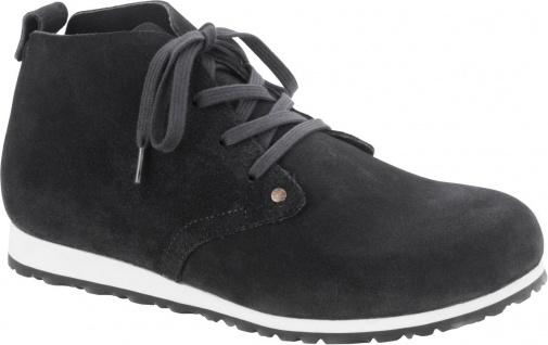 Birkenstock Boots Dundee plus dark grey Veloursleder 1004828