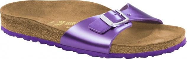 BIRKENSTOCK Madrid metallic violet Leder 1004047