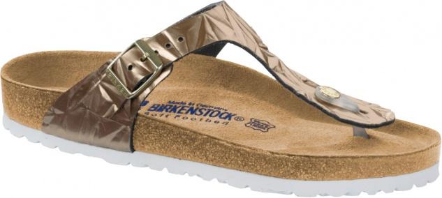 Birkenstock Zehensteg Sandale Gizeh spectral copper NL Gr. 35 - 43 - 1008471 Beliebte Schuhe