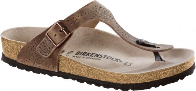 Birkenstock Gizeh Zehensteg tabacco brown - 1009760 / 1009761