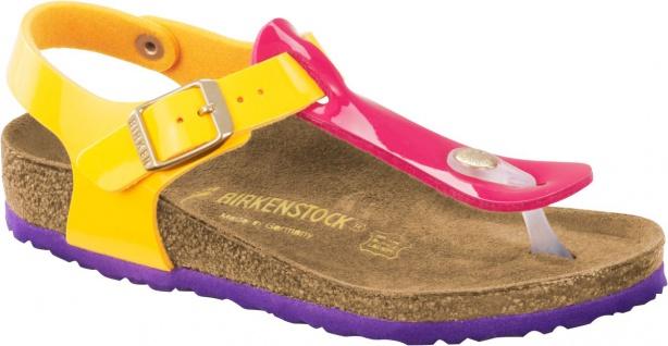 Birklenstock Zehensteg Sandale Kairo BF Lack tropical pink mango Gr. 30 - 34 1003317