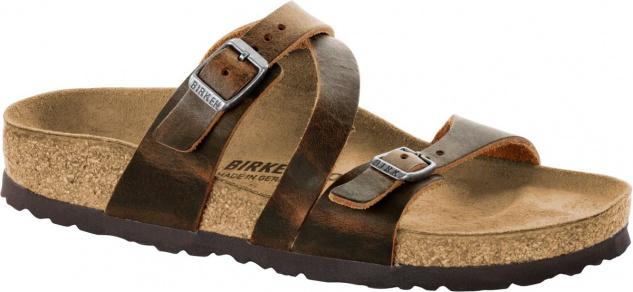 BIRKENSTOCK Pantolette Sandale Salina camberra old tabacco NL 1009610 Gr. 35 - 43 1009610 NL 30ee89