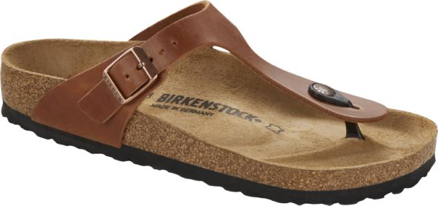 Birkenstock Zehensteg Gizeh antique brown 1016781
