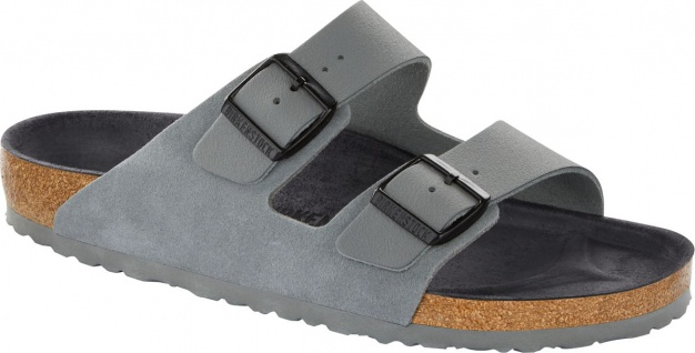 Birkenstock Pantolette Arizona asphalt grey 1011396