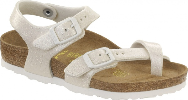 Birkenstock Sandale Taormina Kids magic galaxy white Gr. 24 - 34 371591K
