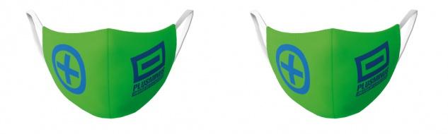 CHIEMSEE Nasen - & Mundschutz- Maske 2er Pack KIDS grün
