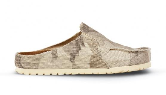 Birkenstock Classic Skipper camouflage brown Textil Gr. 35 - 46 198071 + 198073