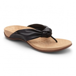 Vionic Zehensteg Sandale Pippa black Gr. 36 - 42 - 1001125