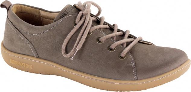 Birkenstock Shoes Halbschuh Islay taupe Naturleder Nubuk 1007034