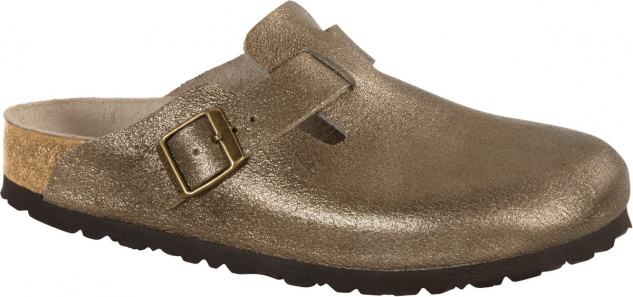 Birkenstock Clog Boston washed metallic antique gold NL Gr. 35 - 43 1011278