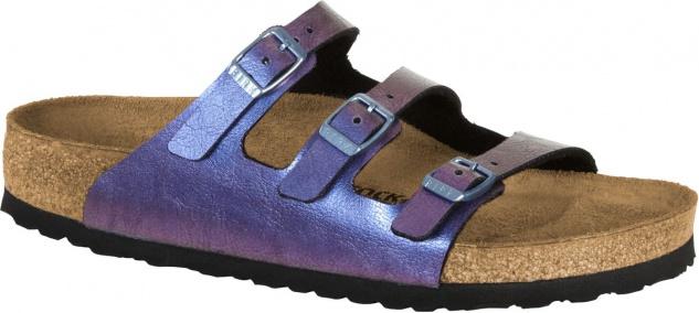 Birkenstock Pantolette Florida graceful gemm violet BF 35 - 43 1010961