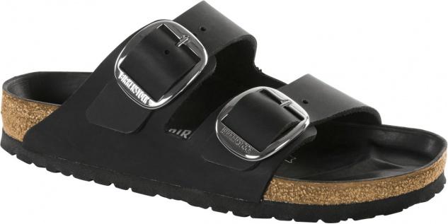 Birkenstock Pantolette Arizona black Waxy Leather Gr. 35 - 43 1011075
