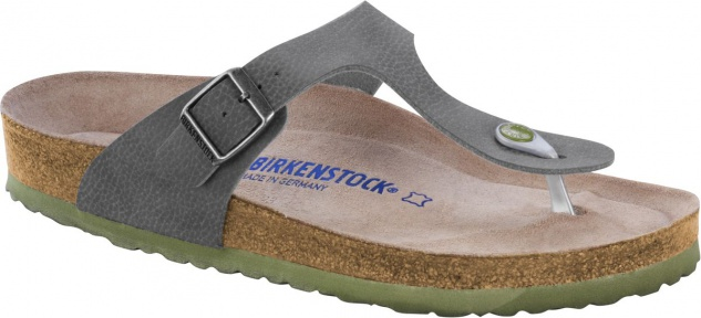 Birkenstock Zehensteg Gizeh BS desert soil grey - 1005134