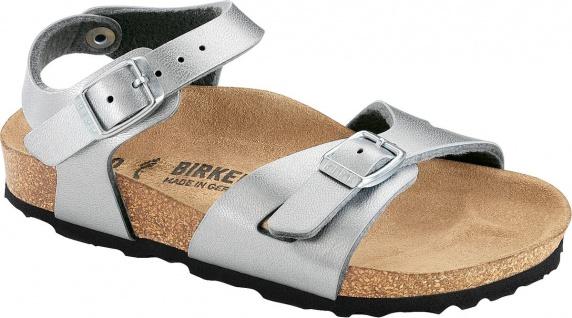 BIRKENSTOCK Sandale Rio silber Birko-Flor Gr. 35 - 40 031891 + 031893
