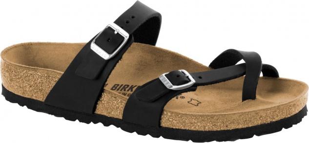 Birkenstock Zehensteg Sandale Mayari black Gr. 35 - 43 - 1009922 Beliebte Schuhe